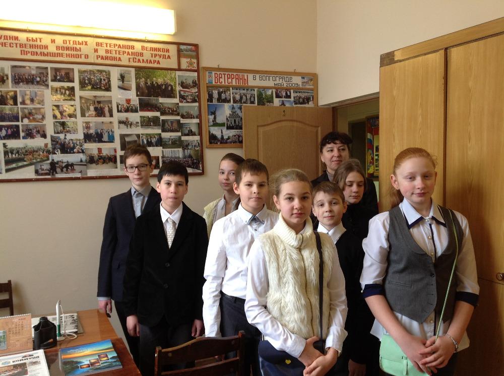 Встреча в Совете ветеранов Промышленного района