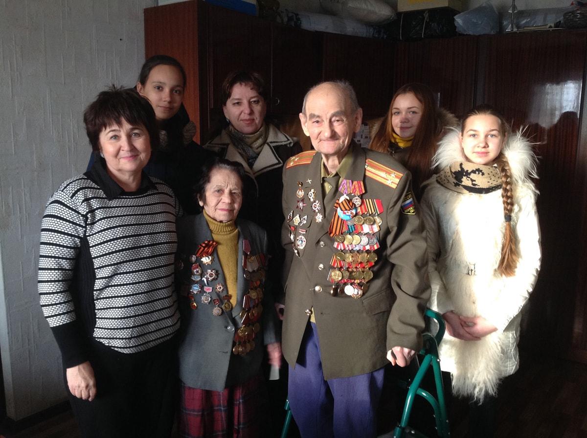 Встречи с ветеранами ВОВ